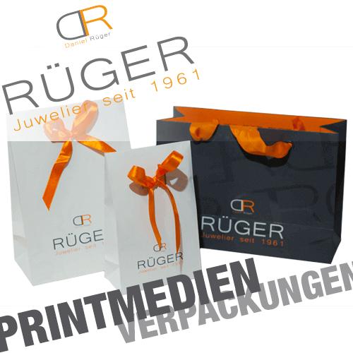 Printmedien Geschenkverpackungen-tragetueten-juwelier-rueger-kleve