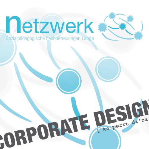 Corporate Design Logo Entwurf für netzwerk - Sozialpädagogische Fachbetreuungen Lange aus Kleve