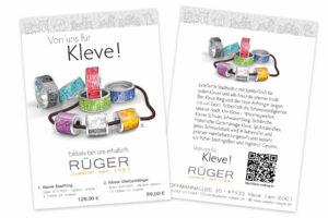 Klever-stadtring-flyer-gestalten-beidseitig-Din-A6