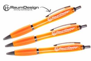 werbekugelschreiber-einfarbig-orange-Produktfoto-hg-raumdesign-goch